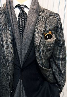 ღღ Dappertastic... Shades of gray...