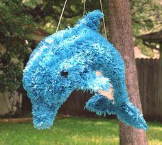 Super cute dolphin piñata :)