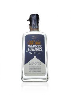 + Design de embalagem :   Marca de gin Warner Edwards, com a embalagem desenvolvida pela Blue Martin.