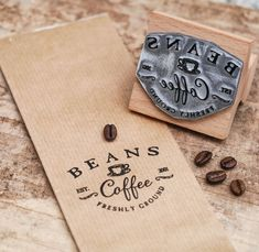 The English Stamp Company Food Packaging Design, Coffee Packaging, Brand Packaging, Branding Design, Coffee Shop Logo, Coffee Shop Design, Coffee Cafe, Coffee Shop Branding, Restaurant Fast Food