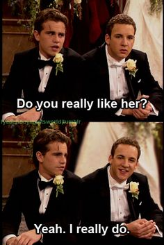 Boy Meets World wedding