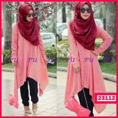 "Fashion Wanita Dress Hijab Syariah  Kode :23112  Harga Ecer : 75.000  Grosir : 68.000  Size :  Ld= 43 cm P=148 cm PL= 40 cm  ( HIJAB+DRESS+CELANA )  Bahan : Rayon Spandex  yukk order dengan sms ke 08999-89-59-39 ""DICARI RESELLER DAN DISTRIBUTOR DI INDONESIA"""