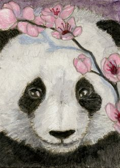 Panda art in Art | eBay