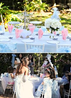 cinderella party/ definitely want to do this for my daughter