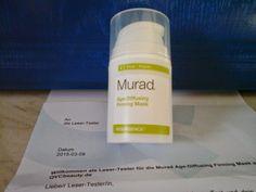 Hexes Produkttest und Sonstiges: Murad Anti-Aging Straffungsmaske