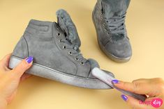 High Tops, High Top Sneakers, Wedges, Housekeeping, Advice, Shoes, Ideas, Fashion, Moda