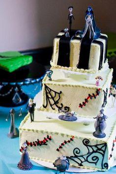 Beauty and The Beast Wedding Cake Design