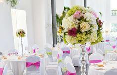 Decorar con flores las bodas de La Casona de las Fraguas. Peñas Blancas