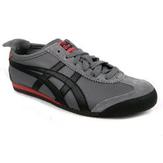 Onitsuka Tiger Mexico 66 Unisex Leather Running Shoes Lace Up Trainers: Amazon.co.uk: Shoes & Accessories