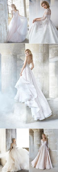 Sweet Femininity with a Touch of Edginess! Hayley Paige Wedding Dresses For Modern Romantic Brides!
