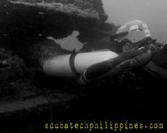 Advanced sidemount technical wreck exploration of a Landing Ship Tank (LST) in Subic Bay, Philippines. Oct 2014  Andy Davis Technical Diving http://scubatechphilippines.com