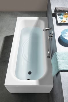 LAURA obdélníková vana 170x75x39cm, bílá : SAPHO E-shop Bath Screens, Bathtubs, Sink, New Homes, Bathroom, House, Shopping, Home Decor, Sink Tops