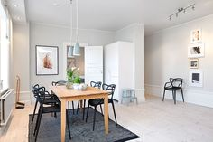 Luminoso apartamento con unas estanterías geniales   Decorar tu casa es facilisimo.com
