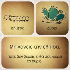 Advice Quotes, Wisdom Quotes, Funny Phrases, Funny Quotes, Dont Lose Hope, Greek Language, What About Tomorrow, Perfect People, Greek Words