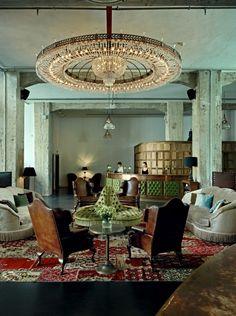 Soho house Berlin Reception