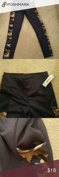J Vini  side camouflage tights with pocket J Vini side camouflage tights with pocket JVINI Pants Leggings