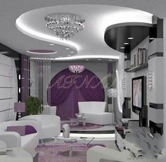 Stunning Tips: False Ceiling Design Modern plain false ceiling floors.False Ceiling Design With Fan false ceiling office products. Ceiling Plan, Home Ceiling, Bedroom Ceiling, Ceiling Ideas, Modern Ceiling, Ceiling Lights, Ceiling Hanging, Room Lights, Ceiling Design Living Room