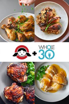 Nom Nom Paleo - Award-Winning Paleo Recipes by Michelle Tam Clean Dinner Recipes, Whole30 Dinner Recipes, Paleo Meal Prep, Paleo Chicken Recipes, Paleo Dinner, Paleo Recipes, Paleo Meals, Keto Foods, Healthy Foods