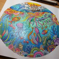 Johanna Basford | Picture by Shanda Storm | Colouring Gallery