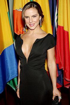 Kate del CastilloActress Kate del Castillo was briefly married to former Mexican striker Luis Garcia.