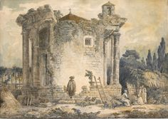 """San Martin Arts Crafts: """"Drawings with pencil, chalk and watercolor or wash""""_Old Masters."""
