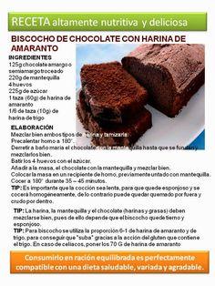 Nutra® Ingredientes: Biscocho de cocolate con harina de amaranto