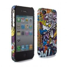 Ben Allen iPhone 4S Case - 'Tiger Graffiti' by Proporta