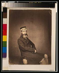 Captain Halford,1855,Crimean War,Ukraine,Crimea,Roger Fenton,photographer