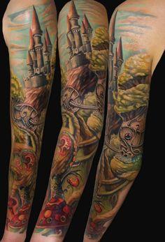 """Tatuagens nos Braços que com certeza serão uma boa inspiração ou darão aquela luz criativa na resposta da pergunta """"O que vou tatuar?"""""""