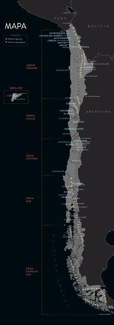 Chile antes de Chile | Mapa