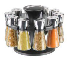 Cole & Mason - 'Hudson* carousel houses 10 spice jars