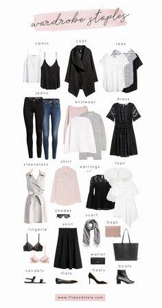Spring capsule travel wardrobe #elegantwardrobebasics
