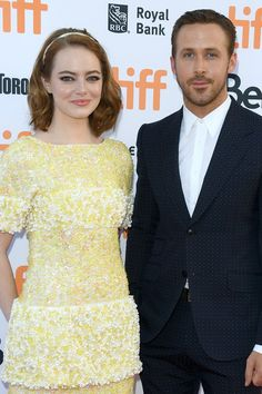 Ryan Gosling and Emma Stone Look Damn Good Together on the Red Carpet