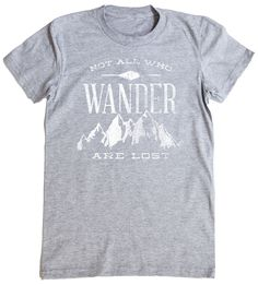 """""""Not all who wander are lost"""" by Zeke Tucker » Trending on Redbubble: Outdoor Adventures"""