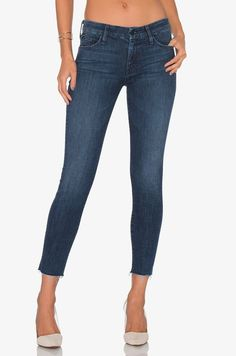 MOTHER LOOKER ANKLE FRAY Skinny Jeans 26 Twilight Magic $218 Anthropologie Denim #MOTHER #SlimSkinny