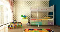 2 παιδιά σε ένα υπνοδωμάτιο -Εξυπνες ιδέες διακόσμησης