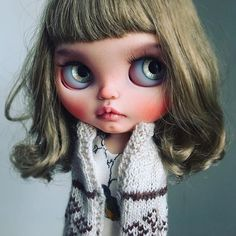 Bambi left already but here's one more pic. #tiinacustom #customblythe