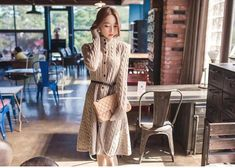 Single Breasted Sweater Dress | | Off The Shoulder Casual Top | Woman's fashion | ladies | woman | trending items | trending in 2018 | best woman's clothing | woman's apparel | ideas for spring clothes | ideas for woman's clothes | woman's shirts | off shoulder shirts | korean shirts | korean clothes | amazing woman's clothes