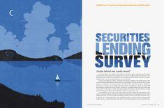 Securities Lending Survey, Illustration by SHOUT for Asset International ::: www.dutchuncle.co.uk/shout-images #editorial