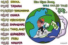 김현중 WORLD TOUR '夢幻' 2014.06.28〜09.16  お疲れ様でした♡♡♡♡♡♡ Only One Kim Hyun Joong♡♡♡ pic.twitter.com/Ks4gSEqO6h