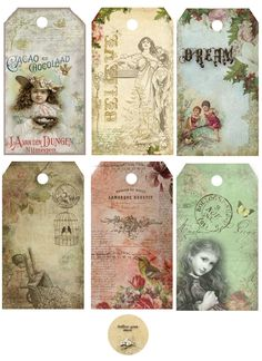 Astrid's Artistic Efforts: Over 50 free downloads of vintage papers, tags and ephemera