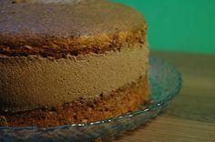 Mintun pähkinäsuklaakakku. Reseptin teki Kotikokki.netin nimimerkki Teya