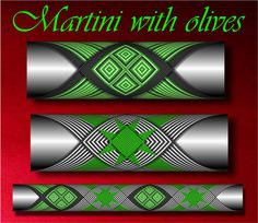 Martini with olivesPattern step by step Custom Rod Building Cross Wrap Pattern…