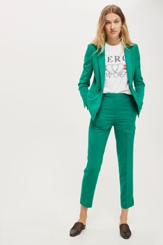 Suit cigarette trousers. Co-ord avialable.