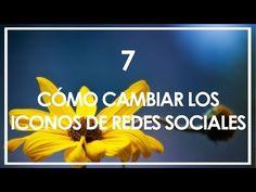 Cómo cambiar los iconos de redes sociales en el blog - Mamá, quiero ser blogger