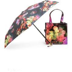 Women's Ted Baker London 'Floral Ikon' Tote & Umbrella