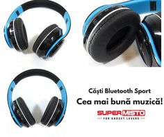 OEM Casti Bluetooth Sport in oferta Supermisto. Over Ear Headphones, Bluetooth, Gadgets, Sports, Hs Sports, Sport, Gadget