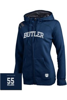 Product: Butler University Bulldogs Women's Full-Zip Hooded Sweatshirt