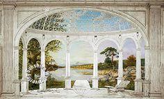 White Arches Mural RA0213M