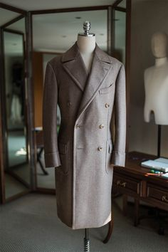 "bntailor: "" 840g wool over coat by B&TAILOR """